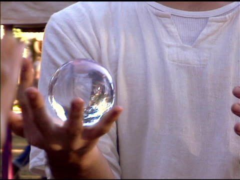 crystal ball play - fortune telling stock videos and b-roll footage