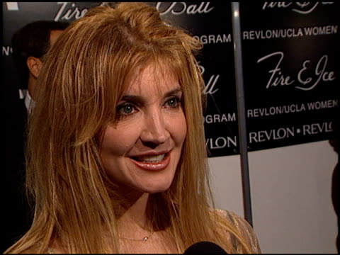 crystal bernard at the 2000 fire and ice ball at the beverly hilton in beverly hills california on december 11 2000 - ice crystal stock videos & royalty-free footage