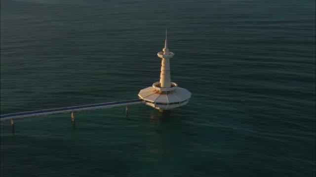 AERIAL Crystal Cay Observation Tower at Paradise Island, Nassau, Bahamas