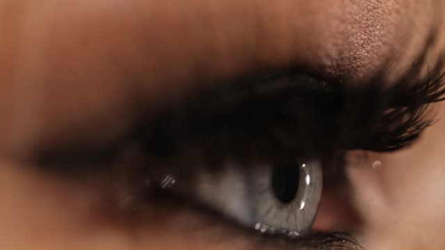 crystal clear eye - extreme close up stock videos & royalty-free footage