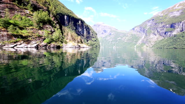 crystal clear lake - fjord stock videos & royalty-free footage