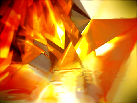 vídeos de stock e filmes b-roll de cristal, fogo e água - liquid crystal display