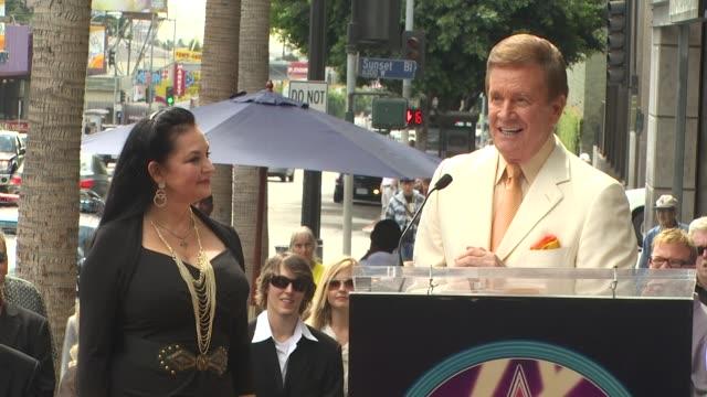 crystal gayle and wink martindale at the crystal gayle is honored with a star on the hollywood walk of fame at hollywood ca. - crystal gayle stock videos & royalty-free footage