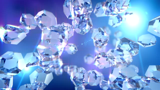 HD: Crystal loopable background