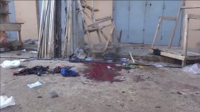cuatro personas murieron este miercoles en un ataque suicida en un mercado en kano en el norte de nigeria informo la policia que especifico que las... - suicide bombing stock videos & royalty-free footage