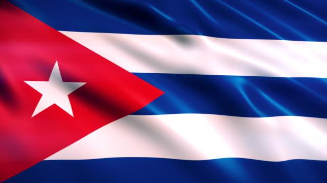 キューバの旗 - 世界の国旗点の映像素材/bロール