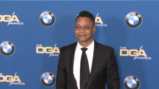cuba gooding jr at 69th annual directors guild of america awards in los angeles ca - directors guild of america awards stock videos & royalty-free footage