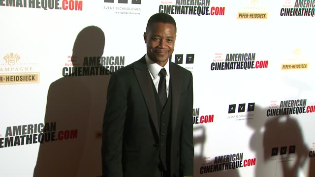 cuba gooding jr at american cinematheque's 27th annual award presentation honoring jerry bruckheimer in beverly hills ca on - american cinematheque stock videos & royalty-free footage