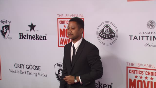 Cuba Gooding Jr at the 15th Annual Critics' Choice Movie Awards AfterParty at Hollywood CA