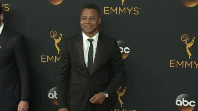vidéos et rushes de cuba gooding jr. at the 68th annual primetime emmy awards - arrivals at microsoft theater on september 18, 2016 in los angeles, california. - annual primetime emmy awards