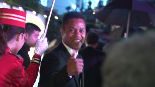 cuba gooding jr. attends the opening night dinner at the hotel majestic during the 63rd annual international cannes film festival. at the opening... - majestic stock videos & royalty-free footage