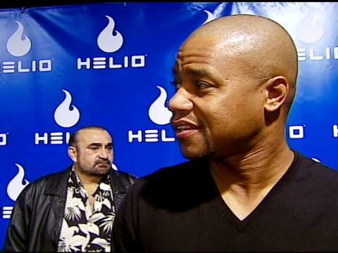 cuba gooding jr on the event wedding wishes for tom cruise and katie holmes at the helio drift launch on november 13 2006 - katie holmes stock videos and b-roll footage