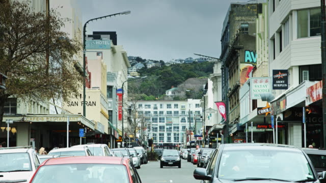 Cuba Street Traffic, Wellington