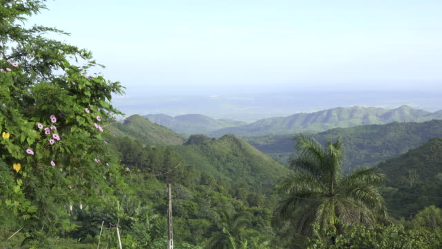 vídeos de stock, filmes e b-roll de cuba tourism: beauty in nature at 'el nicho' natural reserve in the 'escambray' mountain range used for eco-tourism in the province of sancti spiritus. - eco tourism