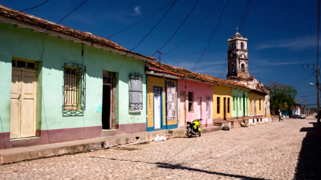 Cuba: Travel : Colorful Colonial Houses of Trinidad