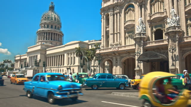 cuba: travel - arco architettura video stock e b–roll