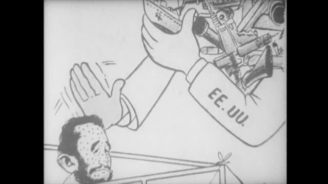 funny images of fidel castro are seen in the media after the fiasco of the october crisis historic footage of the first years of the cuban revolution... - 1959 stock videos & royalty-free footage