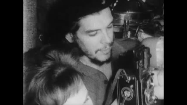 visit of raul castro and che guevara to russia at the beginning of the cuban revolution they achieve a deal for military equipment historic footage... - 1959 stock videos & royalty-free footage