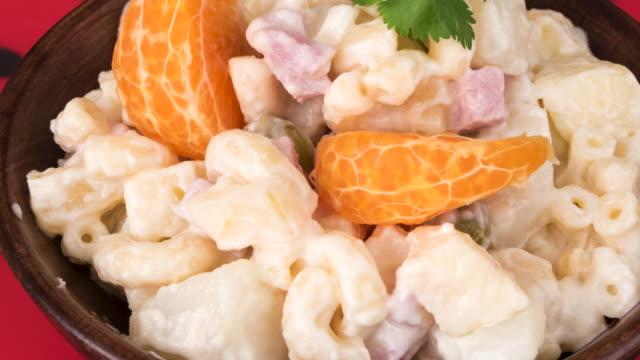Cuban Cuisine: Traditional Cold Pasta Salad