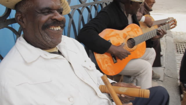 ms td tu cuban musician playing clave / havana, cuba - cuba stock videos & royalty-free footage