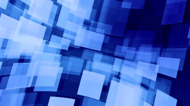 4k cubo sfondo astratto loopable - transparent video stock e b–roll