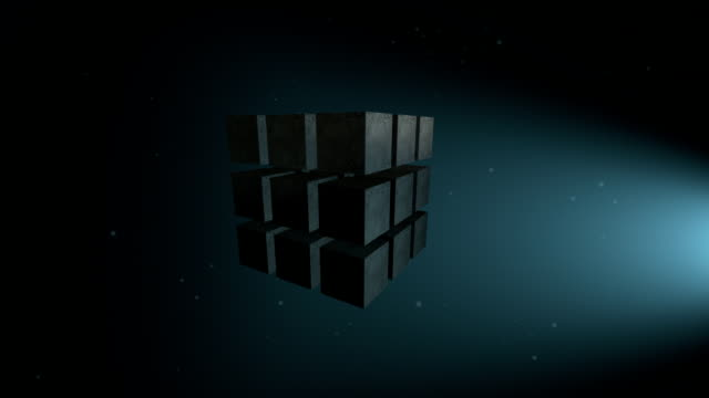 cube animation - cube stock videos and b-roll footage