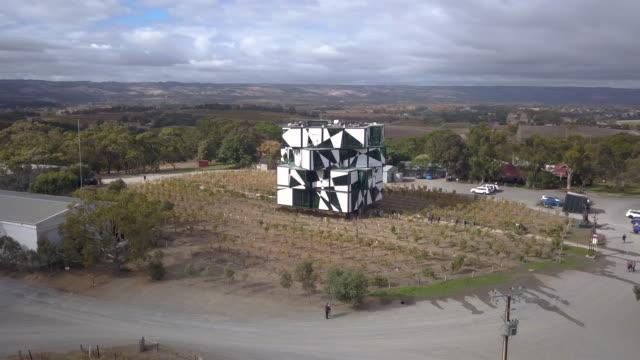 cube at d'arenberg winery, mclaren vale - south australia bildbanksvideor och videomaterial från bakom kulisserna