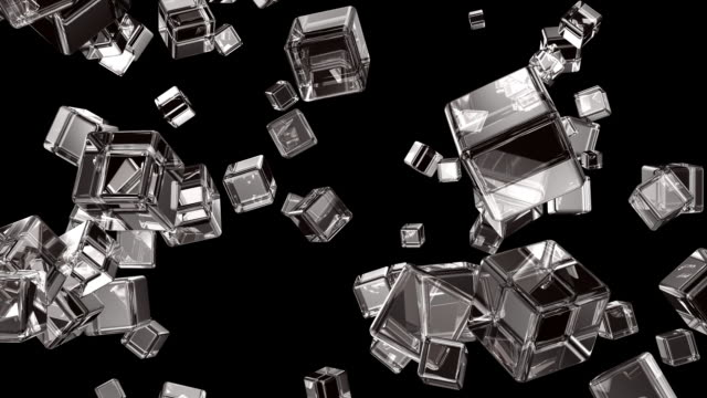 cube #3 hd - refraction stock videos & royalty-free footage
