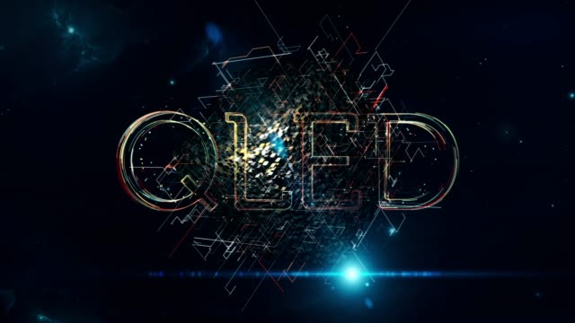 qled cube - liquid crystal display television stock videos and b-roll footage
