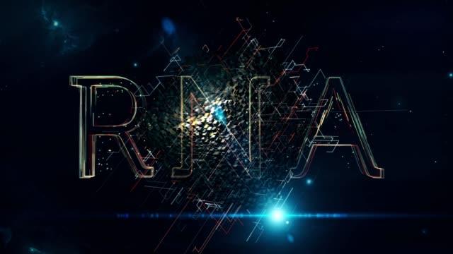rna cube - rna stock videos & royalty-free footage