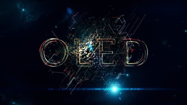 oled cube - full hd format stock videos & royalty-free footage