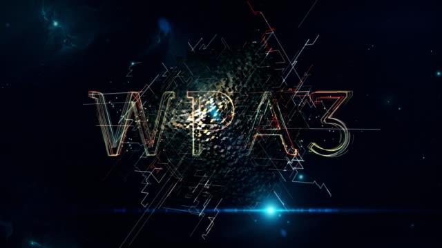 wpa3 cube - wpa stock videos & royalty-free footage