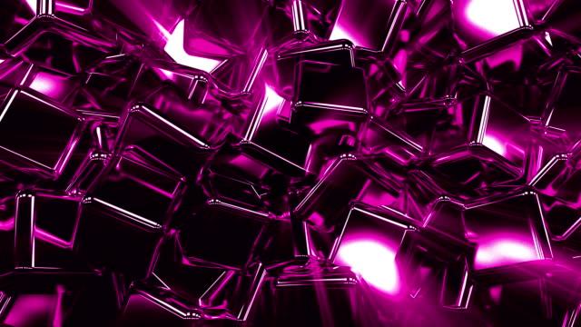 vidéos et rushes de cubes animation fond boucle - fantaisie