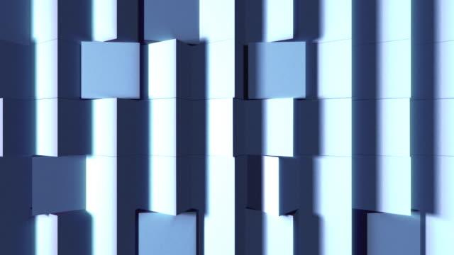 キューブ壁の質感 - 立方体点の映像素材/bロール