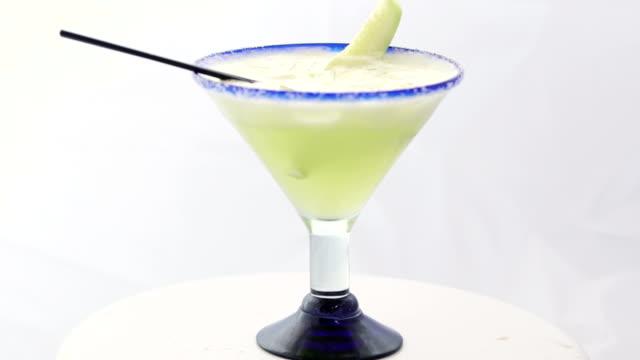 cucumber margarita - margaritas stock videos and b-roll footage