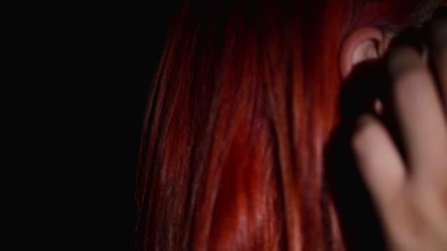 cuddling - redhead stock videos & royalty-free footage