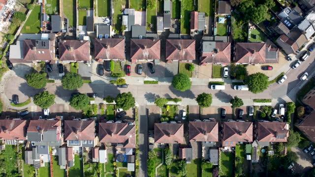 cul-de-sac - suburban stock videos & royalty-free footage