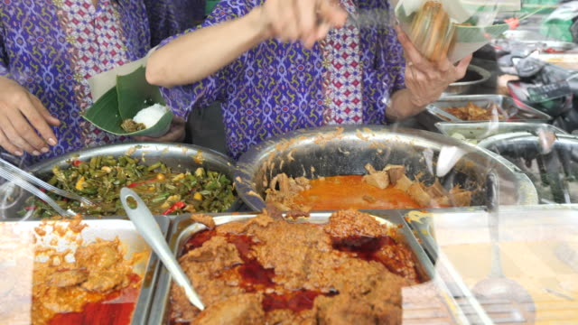 culinary and street food in medan. - chilli pepper stock videos & royalty-free footage