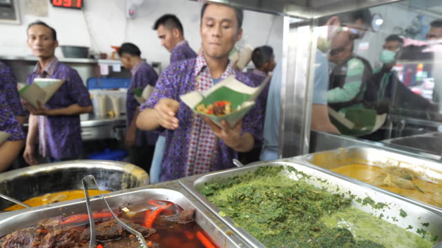 culinary and street food in medan. - cultures stock videos & royalty-free footage