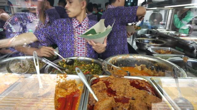 culinary and street food in medan. - street food stock videos & royalty-free footage