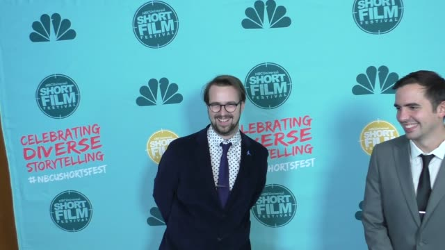 cullan bruce at the 12th annual nbcuniversal short film festival finale screening at directors guild of america on october 18 2017 in los angeles... - bruce stock videos & royalty-free footage