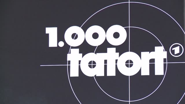 cult crime show tatort may be almost unknown outside germany but the popular and realistic police series is about to celebrate its 1,000th episode - fernsehserie stock-videos und b-roll-filmmaterial