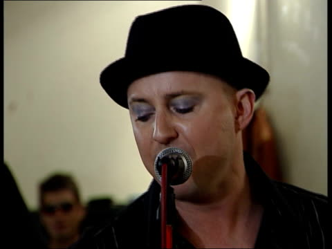 culture club audition for boy george replacement audition hopeful performs culture club songs in studio watched by original band members mikey craig... - replacement stock videos & royalty-free footage