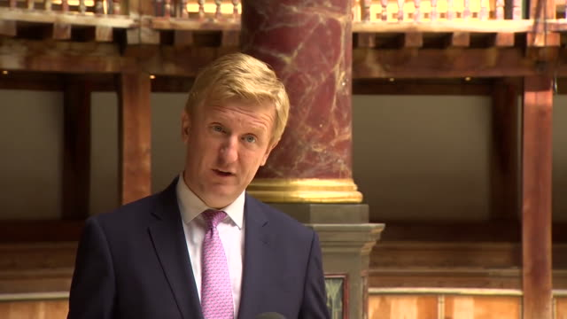 culture secretary oliver dowden saying it is important to the government to protect smaller local arts venues as well as larger ones - b roll stock videos & royalty-free footage