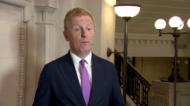 culture secretary oliver dowden saying proof of vaccination will be necessary for visiting nightclubs - politics and government stock videos & royalty-free footage