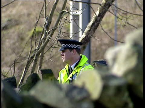 cumbria rail worker deaths; tgv section of track where trolley rolled to police on track at accident scene police officer on duty mark lenderyou... - occurrence stock videos & royalty-free footage