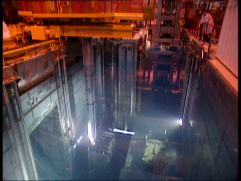 cumbria sellafield gv cooling ponds - sellafield nuclear power station stock videos & royalty-free footage