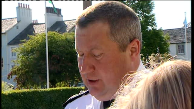 12 dead after gunman goes on rampage deputy chief constable stuart hyde speaking to press sot throughout the day we have been dealing with a very... - derrick bird cumbria stock-videos und b-roll-filmmaterial
