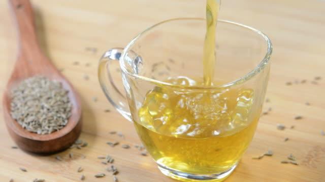 cumin tea - black tea stock videos & royalty-free footage