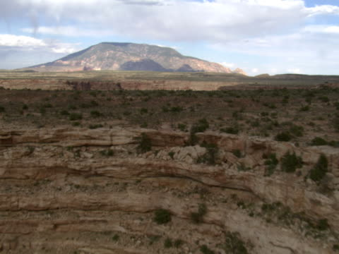 cummings mesa and navajo mountain - artbeats stock videos & royalty-free footage